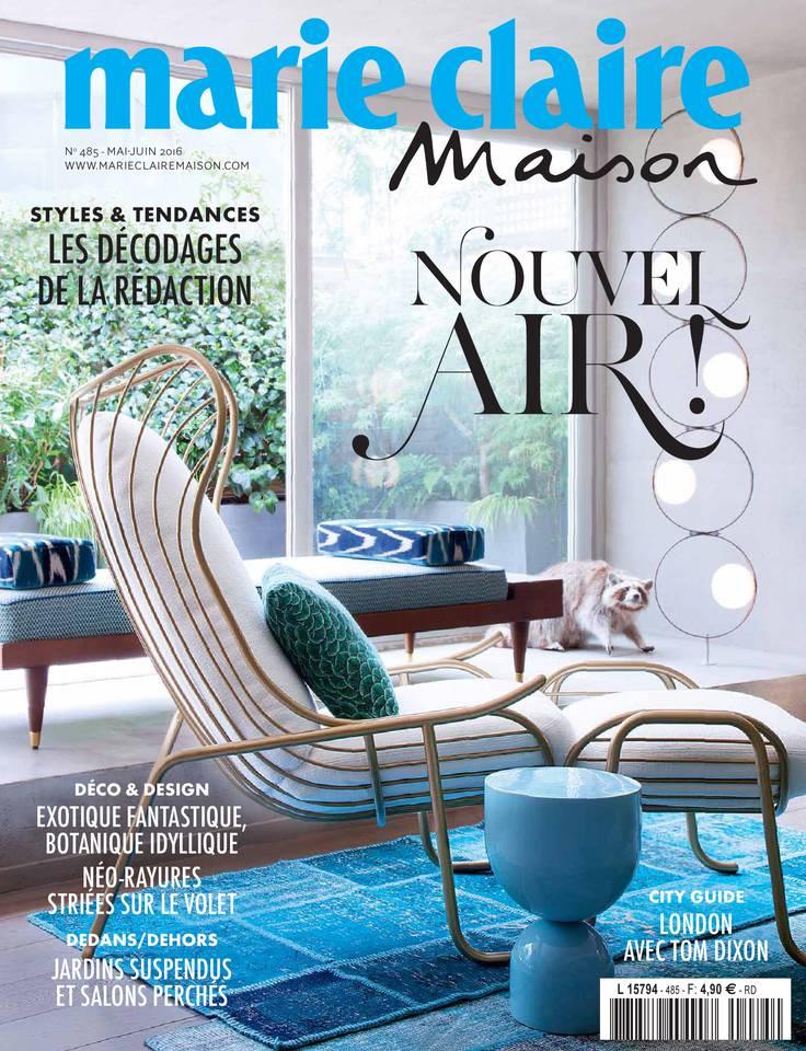 MARIE CLAIRE Maison n°485 MAI_JUIN 2016